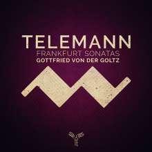 Georg Philipp Telemann (1681-1767): 6 Sonaten für Violine & Bc (Frankfurt 1715), CD