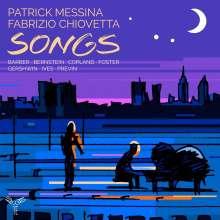 Patrick Messina - Songs, CD