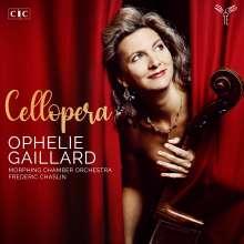 Ophelie Gaillard - Cellopera, CD