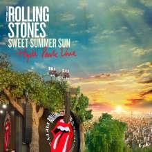 The Rolling Stones: Sweet Summer Sun: Hyde Park Live 2013, 2 CDs und 1 DVD