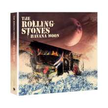 The Rolling Stones: Havana Moon (Limited-Edition), 1 DVD und 2 CDs