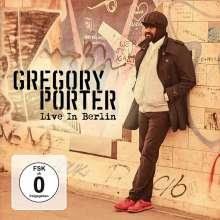 Gregory Porter (geb. 1971): Live In Berlin 2016, 2 CDs und 1 DVD