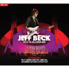 Jeff Beck: Live At The Hollywood Bowl (CD-Format), 2 CDs und 1 DVD