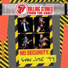 The Rolling Stones: From The Vault: No Security. San Jose '99, 2 CDs und 1 DVD