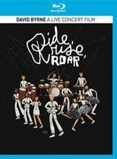David Byrne: Ride Rise Roar: A Live Concert Film, Blu-ray Disc
