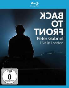 Peter Gabriel: Back To Front: Live In London, Blu-ray Disc