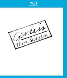 Genesis: Three Sides Live 1981, Blu-ray Disc