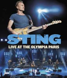 Sting (geb. 1951): Live At The Olympia Paris, Blu-ray Disc