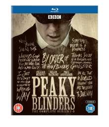 Peaky Blinders Season 1-5 (Blu-ray) (UK Import), 10 Blu-ray Discs