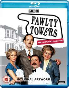 Fawlty Towers Series 1 & 2 (Blu-ray) (UK Import), 3 Blu-ray Discs