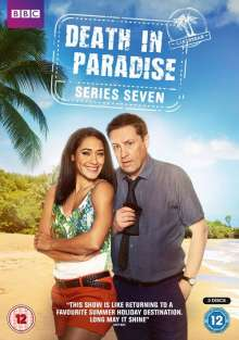 Death in Paradise Season 7 (UK Import), 4 DVDs