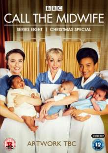 Call The Midwife Season 8 (UK Import), 3 DVDs