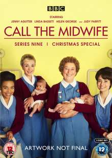 Call The Midwife Season 9 (UK Import), 3 DVDs