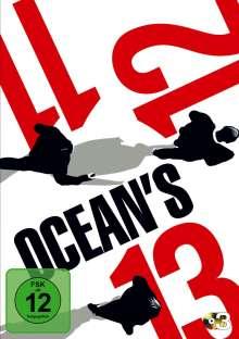 Ocean's Trilogy (Ocean's 11, Ocean's 12, Ocean's 13), 3 DVDs
