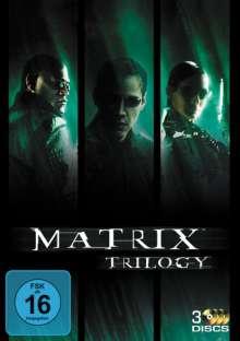 The Matrix Trilogy, 3 DVDs