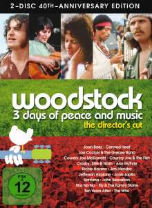 Woodstock (Director's Cut) (Special Edition), 2 DVDs