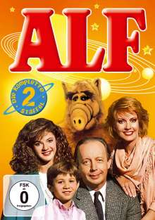 Alf Season 2, 4 DVDs