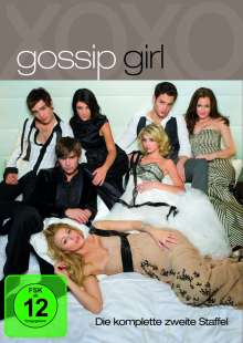 Gossip Girl Season 2, 7 DVDs