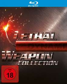 Lethal Weapon I-IV (Blu-ray), 5 Blu-ray Discs