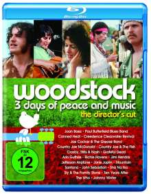 Woodstock (Director's Cut) (Blu-ray), Blu-ray Disc