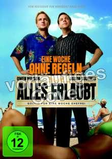 Alles erlaubt - Eine Woche ohne Regeln, DVD