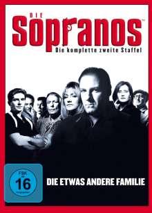 Die Sopranos Staffel 2, 4 DVDs