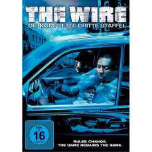 The Wire Staffel 3, 5 DVDs