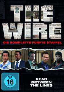 The Wire Staffel 5, 4 DVDs