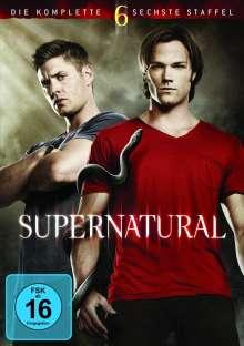 Supernatural Staffel 6, 6 DVDs