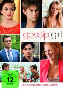 Gossip Girl Season 5, 5 DVDs