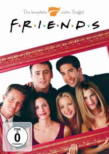 Friends Season 7, 4 DVDs