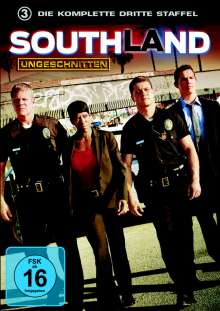 Southland Season 3, 2 DVDs
