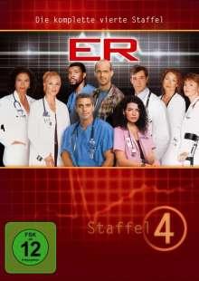 E.R. Emergency Room Staffel 4, 4 DVDs
