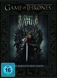 Game of Thrones Season 1, 5 DVDs