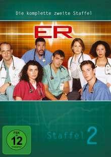 E.R. Emergency Room Staffel 2, 4 DVDs