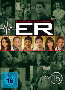 E.R. Emergency Room Staffel 15, 3 DVDs
