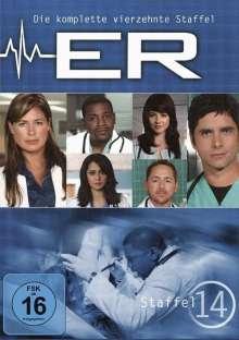 E.R. Emergency Room Staffel 14, 3 DVDs
