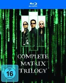 Matrix Trilogy (Blu-ray), 3 Blu-ray Discs