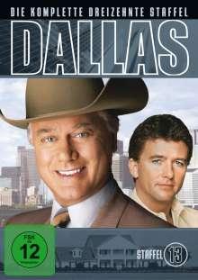 Dallas Season 13, 3 DVDs