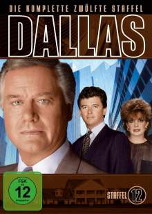 Dallas Season 12, 3 DVDs