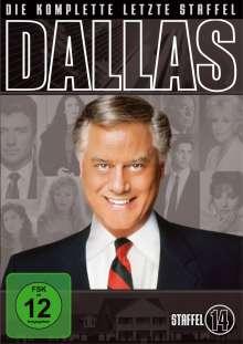 Dallas Season 14 (finale Staffel), 5 DVDs