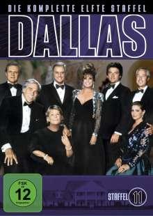 Dallas Season 11, 6 DVDs