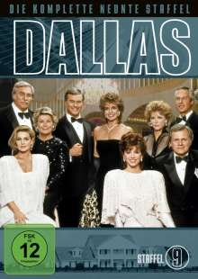 Dallas Season 9, 4 DVDs