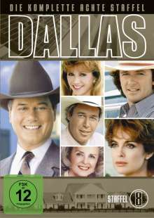 Dallas Season 8, 5 DVDs
