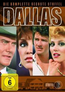 Dallas Season 6, 7 DVDs