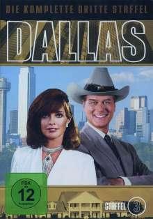 Dallas Season 3, 7 DVDs