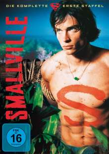 Smallville Season 1, 6 DVDs