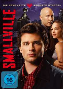 Smallville Season 6, 6 DVDs