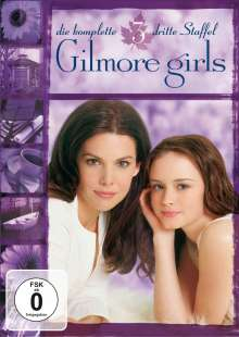 Gilmore Girls Season 3, 6 DVDs