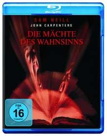 Die Mächte des Wahnsinns (Blu-ray), Blu-ray Disc